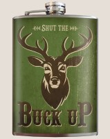 Buck Up Flask