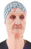 Old Lady Faux Real Mask