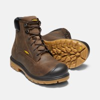 "Men's Keen Baltimore 6"" Waterproof Soft Toe Work Boot - Size 8"