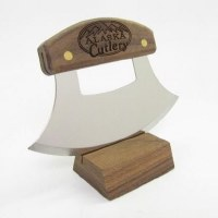 Ulu Factory Birch Ulu Knife
