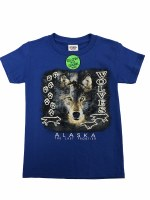 Youth Phantom Wolf Tee - XSmall