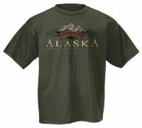 Paw Peaks Moose Tee - Large
