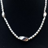 "16"" 3 Accent Bead Necklace"