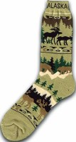 Moose, Bear, Caribou Socks