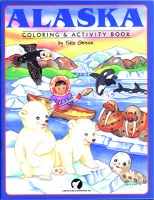 Alaska Coloring & Activity Book