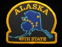 Alaska 49th State Patch