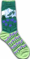 Iris Mountain Ladies Sock