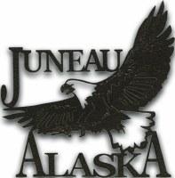 Laser Die Cut Juneau Eagle