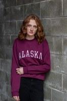 Maroon Alaska Sweatshirt - LG