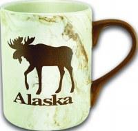 Marble Moose Alaska Mug
