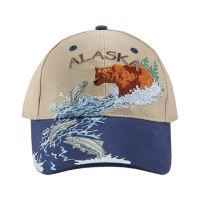 River Bear All Over Ball Hat