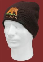 Travelling Bear Knit Hat