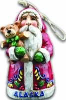 阿拉斯加圣诞老人圣诞节装饰品