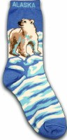 Youth Socks Polar Bear 2-4