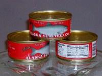 红鲑鱼罐头