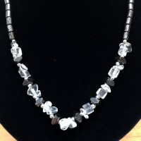 "18"" Hematite Necklace"