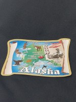 Alaska Map Magnet