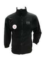 Black Fleece Jacket - Small