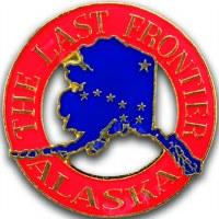 The Last Frontier Alaska Pin