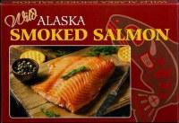 4 oz Smoked Wild Alaskan Pacific Salmon