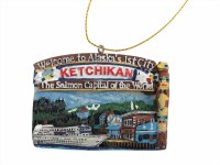 Ketchikan Welcome Arch Christmas Ornament