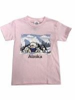 Youth Eskimo 3 Pups Tee - XSmall