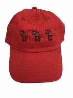 Toddler Beige 3 Moose Alaska Hat