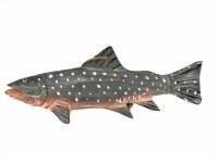 木鲑鱼阿拉斯加圣诞节装饰品