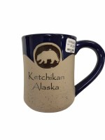 Bear with Ketchikan, Alaska Mug