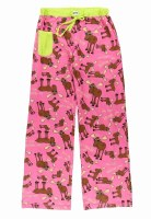 Junior PJ Pants Don't Moose With Me - XSmall