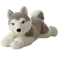 Yukon Husky Plush Dog