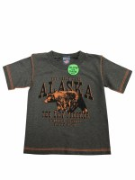 Youth Moody Grizzly Tee - XSmall