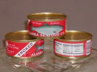 Canned Smoked Sockeye Salmon