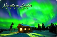 Northern Lights Alaska Placemat
