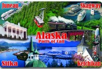 Ports of Call Alaska Placemat