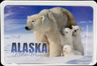 Alaska Polar Bear Playing Cards