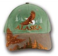 鹰鹰阿拉斯加帽子