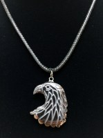 Hemitite Eagle Head Necklace