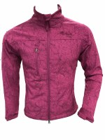 Women's Pink Softshell Jacket - Small