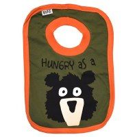 Hungry As A Bear Infant Bib