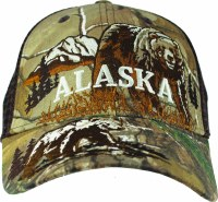Alaska Real Tree Bear Hat