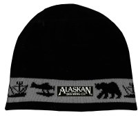Alaskan Brewing Co. Icons Black Knit Beanie