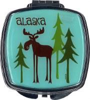 Leggy Moose Compact Mirror
