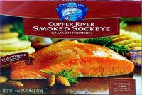 Copper River Smoked Sockeye Salmon 4 oz