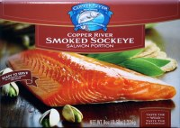 Copper River Smoked Sockeye Salmon 8 oz