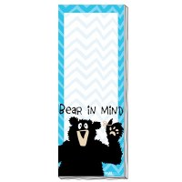 'Bear In Mind' Magnetic Notepad