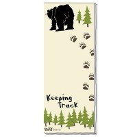 'Keeping Track' Magnetic Notepad