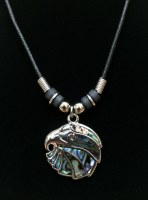 Eagle Head Paua Necklace