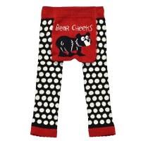 Bear Cheeks Infant Leggings - Medium