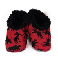 Youth Fuzzy Feet Classic Moose Slippers